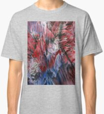 Red White Blue Burst Classic T-Shirt
