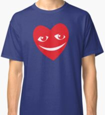LOVE HEART SMILING and happy! Classic T-Shirt