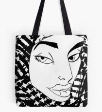 Palestinian Woman Tote Bag