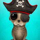 Netter Baby Seelöwe Pirat von jeff bartels