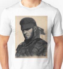 Big Boss aka Naked Snake T-Shirt