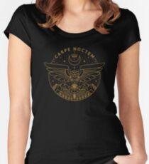 Carpe Noctem Fitted Scoop T-Shirt
