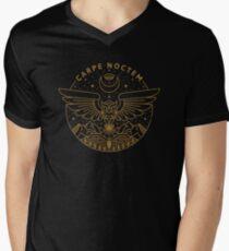 Carpe Noctem T-Shirt mit V-Ausschnitt für Männer
