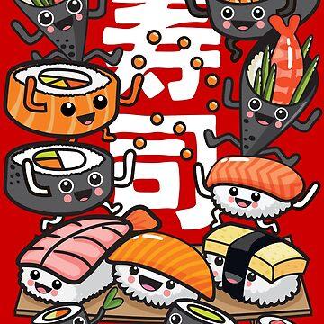Sushi by plushism