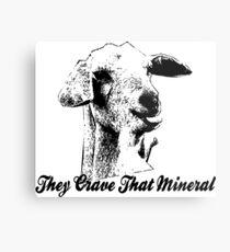 Crave That Mineral Metal Print