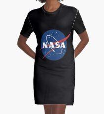 Nasa Graphic T-Shirt Dress