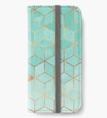 Soft Gradient Aquamarine iPhone Wallet/Case/Skin