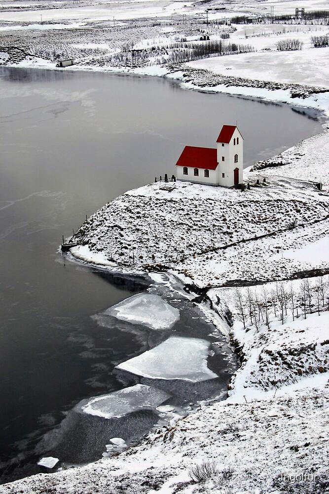 Icelandic Church by Ingolfur