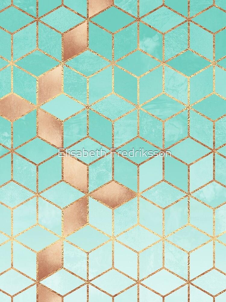 Soft Gradient Aquamarine by foto-ella