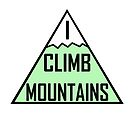 I Climb Mountains Green by julieerindesign