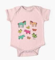 Striped Pigs and Ponies - Peach Melba Kids Clothes