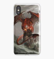 Red Dragon Fantasy iPhone Case/Skin