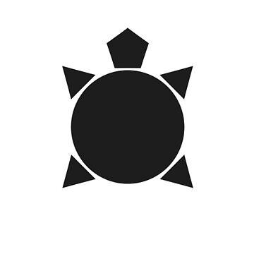 Black Turtle Logo by GlydeTV