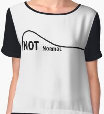 Not a Normal Curve Women's Chiffon Top