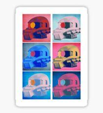 Zaku: Pop Art Sticker