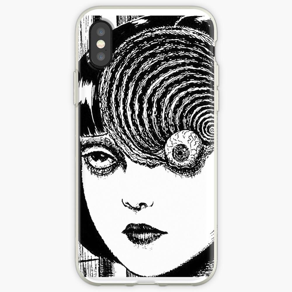 Uzumaki - Auge iPhone-Hülle & Cover