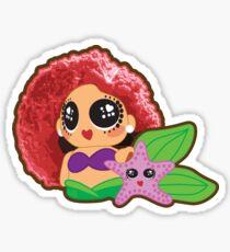 Kurlydoll Sirenita Sticker