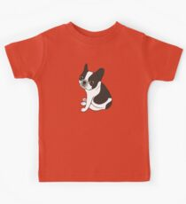 Say hello to the cute double hooded pied French Bulldog Kids Clothes