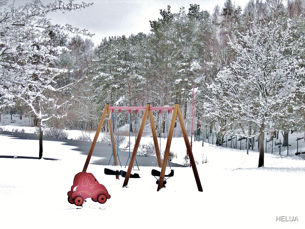 Kids´Playground in Winter by HELUA