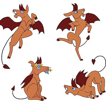 Jersey Devil set by chloecorvid