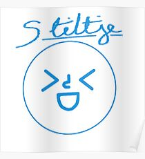 Stiltje Main Logo Poster