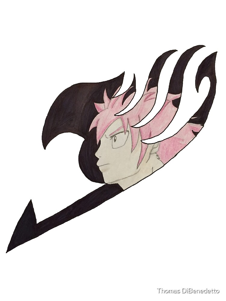 Natsu fairytail logo by Thomas DiBenedetto