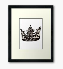 crown  Framed Print