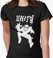 Unity With The Operation of Ivy (Two Tone Style) Womens Fitted T-Shirt