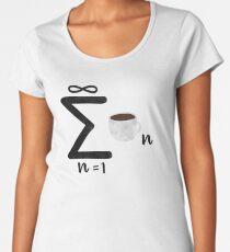 Infinite Coffee Women's Premium T-Shirt
