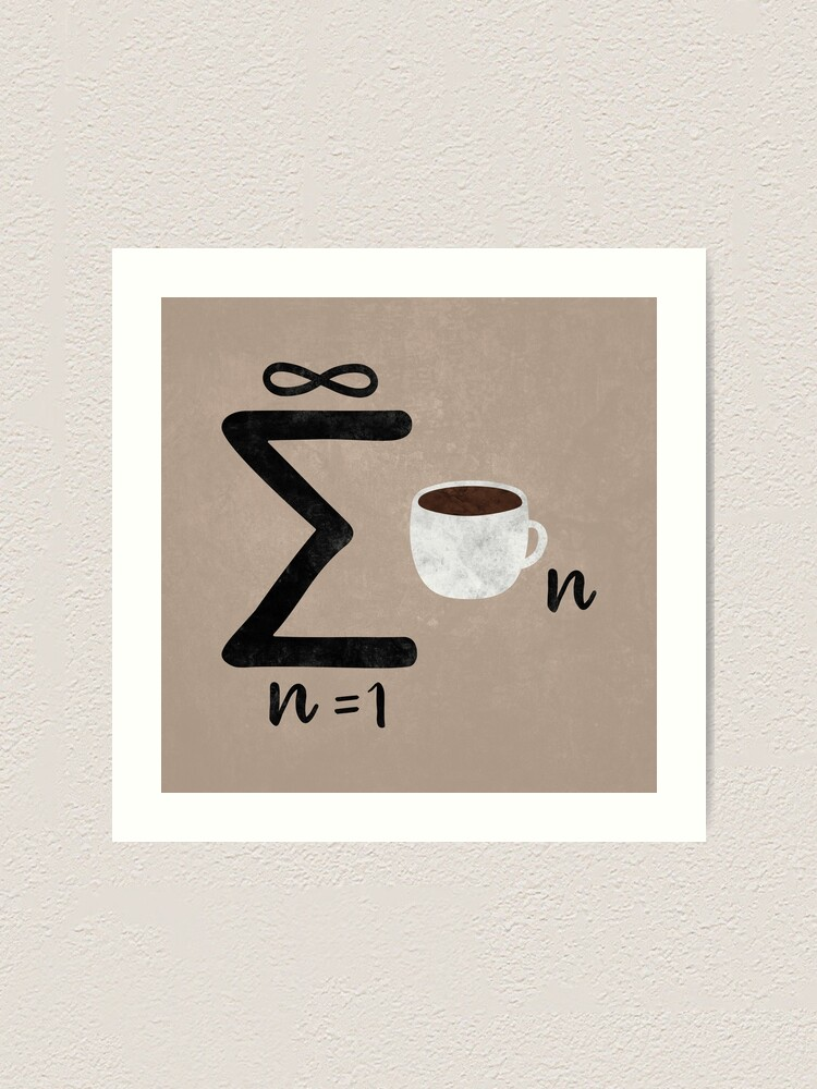 Alternate view of Infinite Coffee Art Print