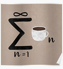 Infinite Coffee Poster