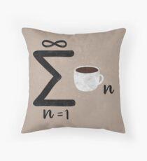 Infinite Coffee Throw Pillow