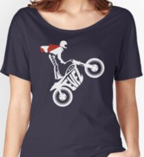 Evel Knievel Logo Relaxed Fit T-Shirt
