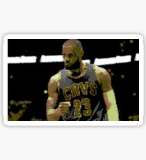 Lebron James 64-Bit Sticker