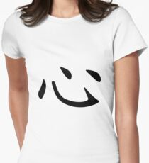 Chinese Character: Heart Womens Fitted T-Shirt