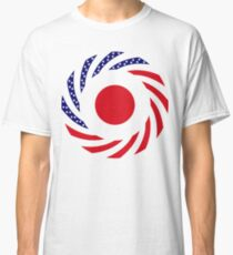 Japanese American Multinational Patriot Flag Series Classic T-Shirt