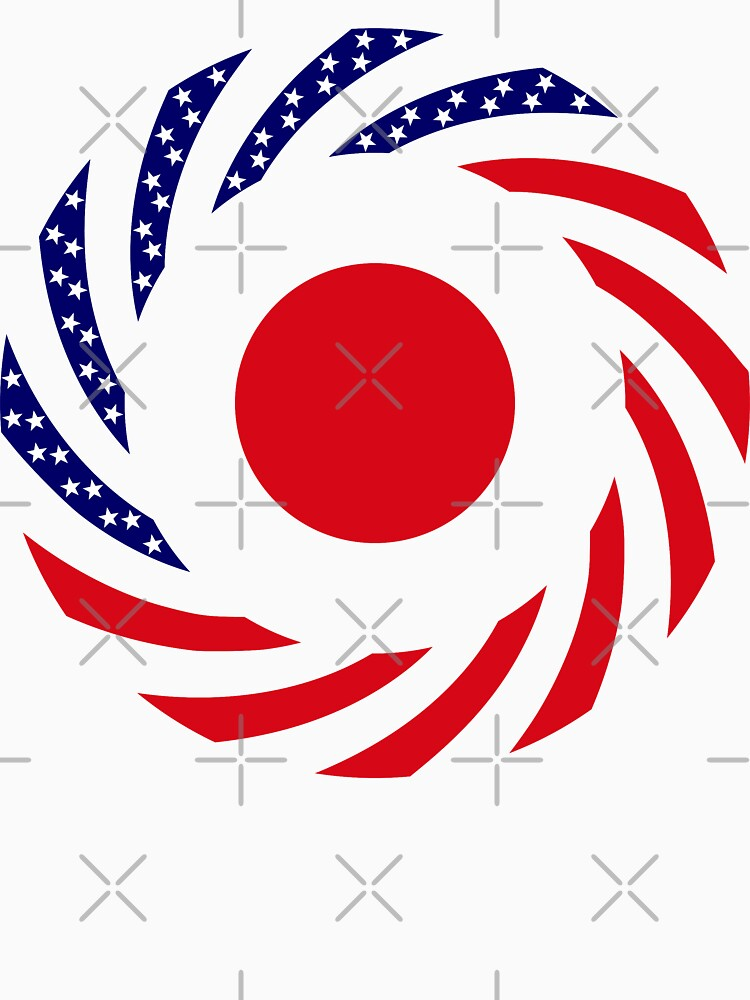 Japanese American Multinational Patriot Flag Series by carbonfibreme