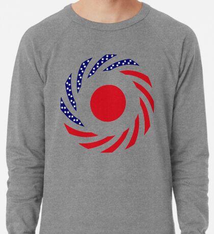 Japanese American Multinational Patriot Flag Series Lightweight Sweatshirt