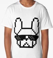 Thug 8 Bit French Bulldog Long T-Shirt