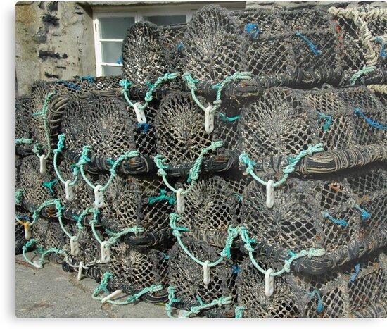 Crab Pots by denisegladwell