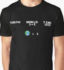 Earth Life Screen Graphic T-Shirt