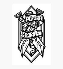 Trust No Elf Photographic Print