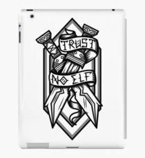 Trust No Elf iPad Case/Skin