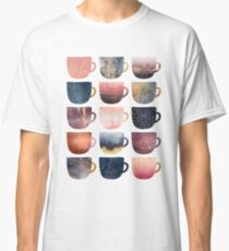 Pretty Coffee Cups 2 Classic T-Shirt