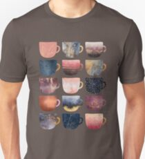 Pretty Coffee Cups 2 T-Shirt