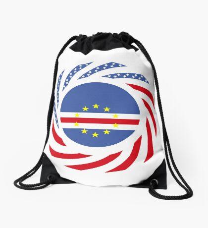 Cape Verdean American Multinational Patriot Flag Series 1.0 Drawstring Bag