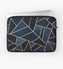 Navy Stone Laptop Sleeve