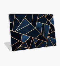 Navy Stein Laptop Folie