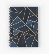 Navy Stone Spiral Notebook