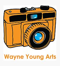 Wayne Young Arts Logo Photographic Print